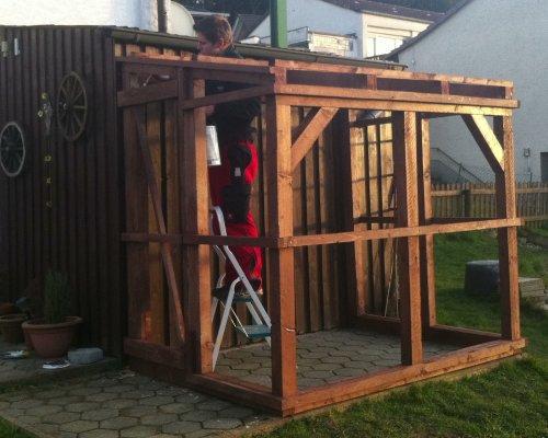 Anlehngewächshaus Selber Bauen gewächshaus anlehngewächshaus tomatengewächshaus selber bauen