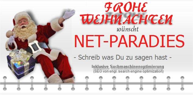Weihnachten 2014 Net-Paradies