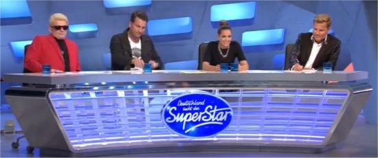 DSDS 2015 Jury - Heino, Dj Antoine, Mandy Capristo und Dieter Bohlen