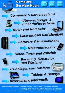 Computer Service Koch - Ihr EDV und Computer Spezialist aus Balve