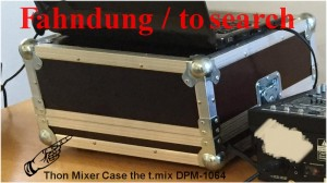 Mixer Case für Powermixer DPM 1064 gestohlen