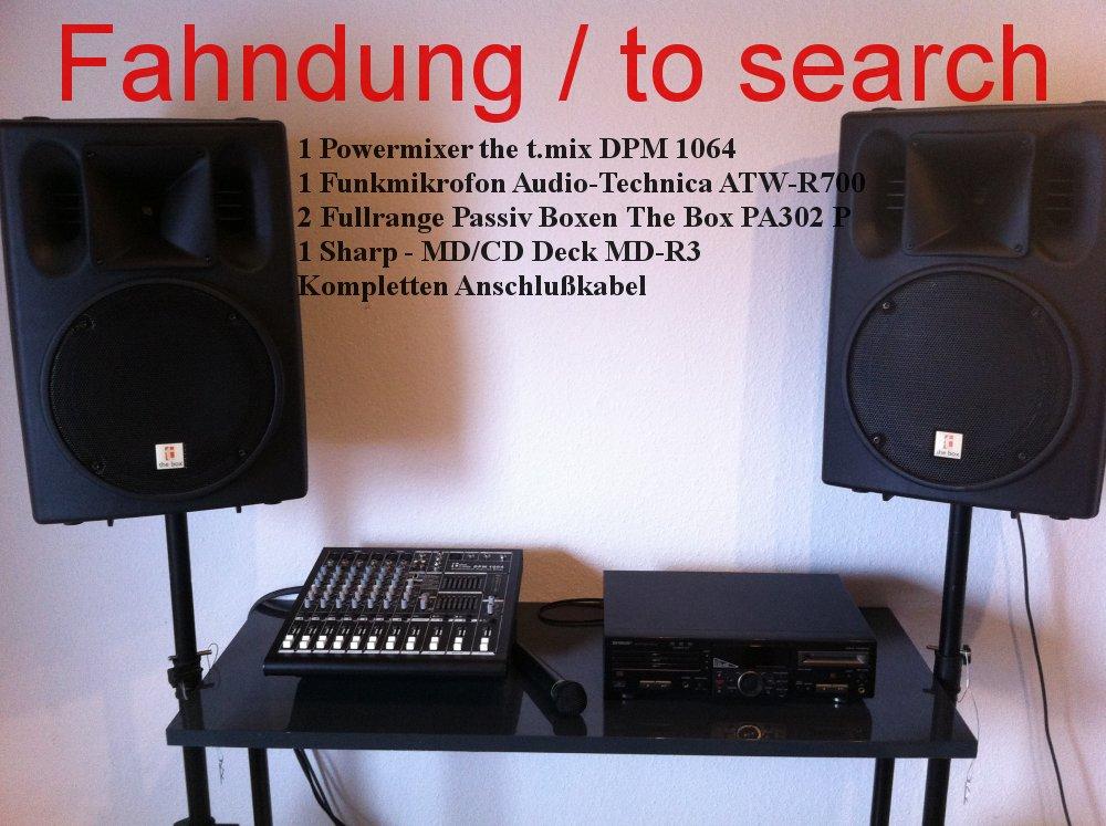 pa-anlage-musikanlage-gestohlen, geklaut