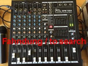 Powermixer the t.mix DPM 1064 gestohlen