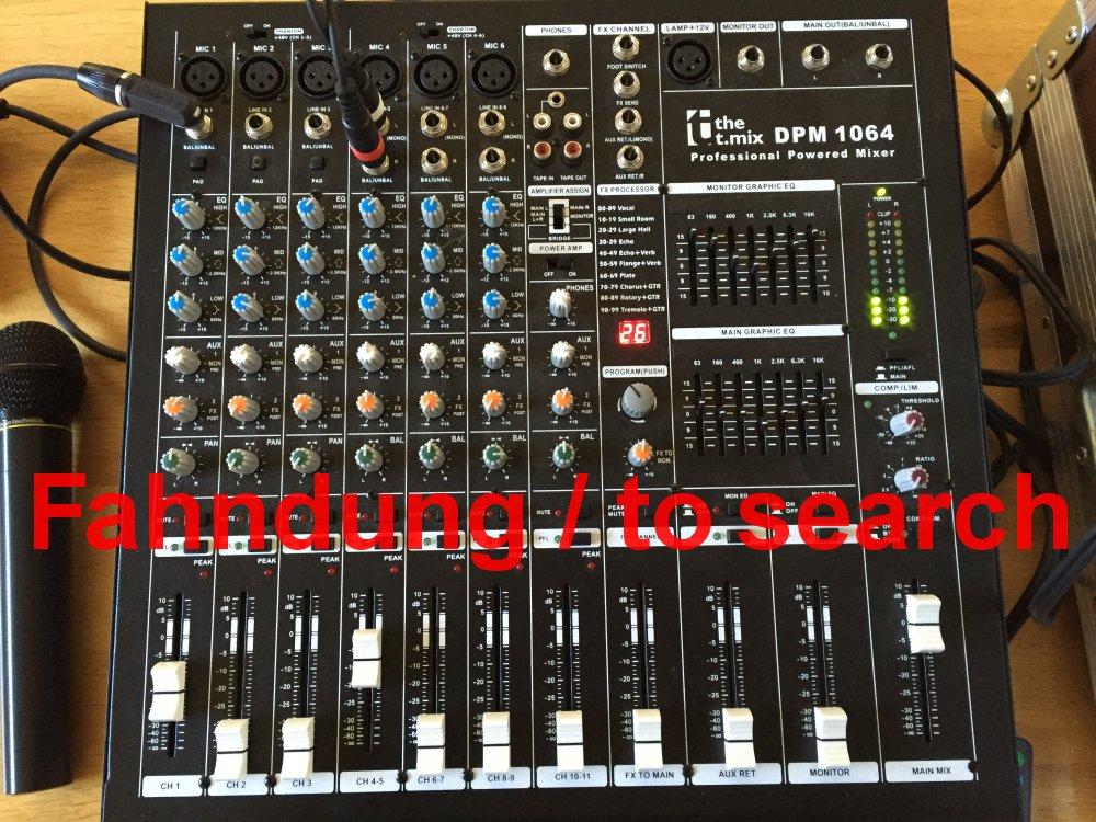 Powermixer: the t.mix DPM 1064 gestohlen